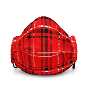 Your Royal Closet 'Red Tartan' Face Mask