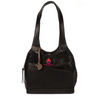 ROYALTEE JULIET BLACK LEATHER HANDBAG