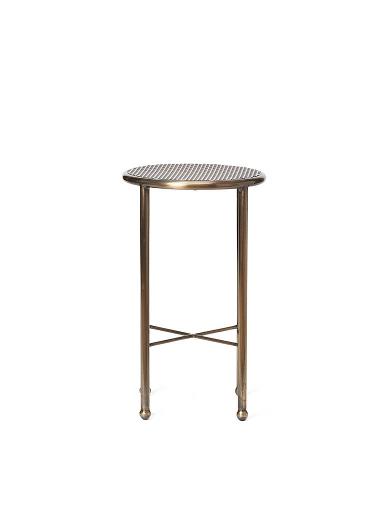 Metal Napa Drinks Table