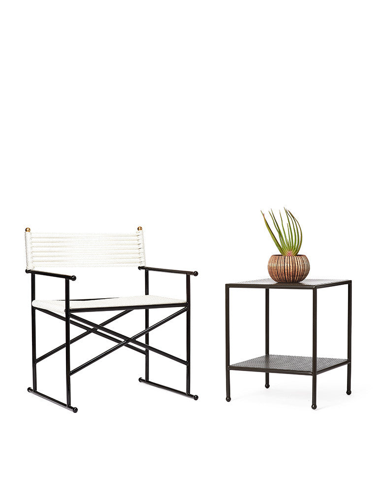 Outdoor Angeles Square Side Table