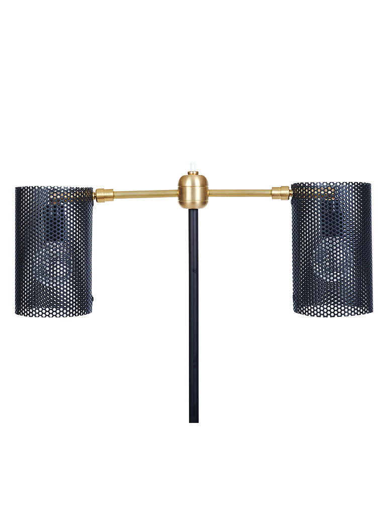 Black Maza Floor Lamp - In Stock
