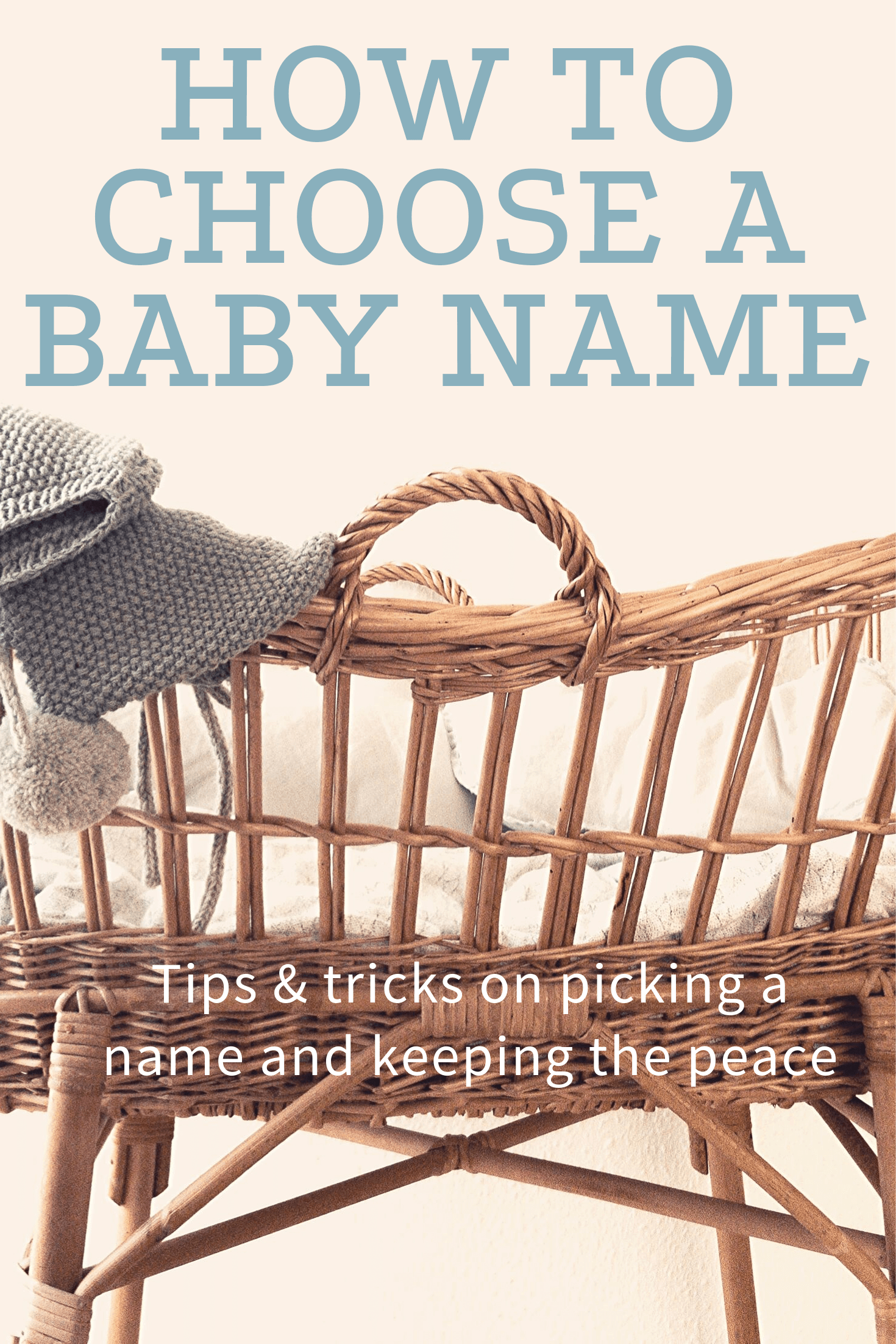 How to Choose Baby's Name - Birchmark Designs