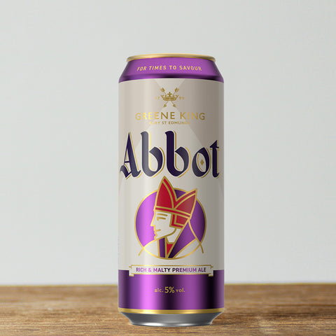 Abbot Ale cans new design for 2021
