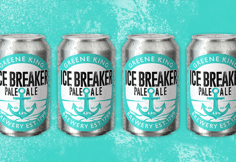 Ice Breaker Pale Ale Cans