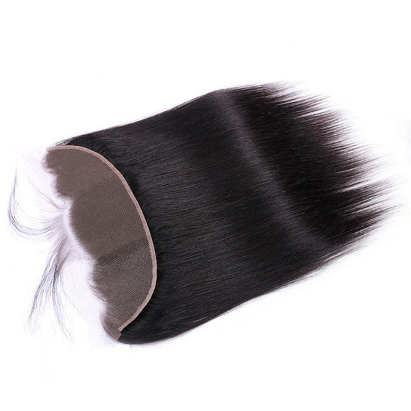 13x4 Lace Frontal Silky Straight Human Hair