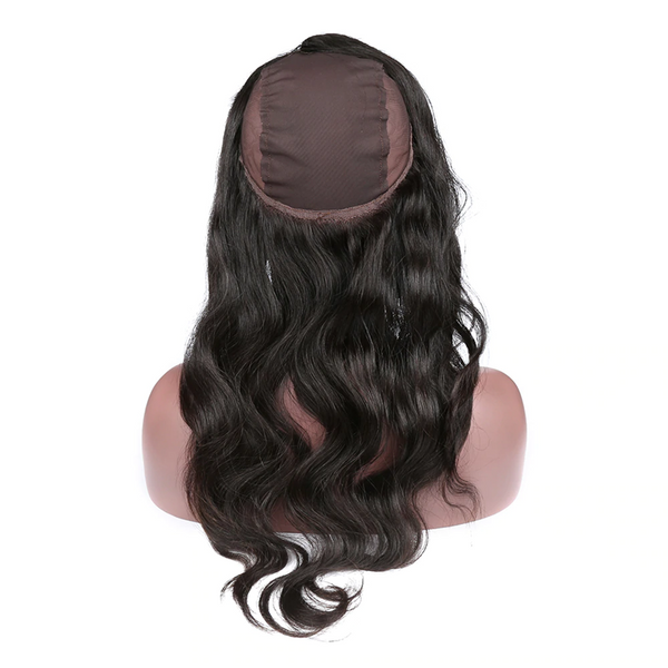 360 Lace Closure With Cap Body Wave Human Hair