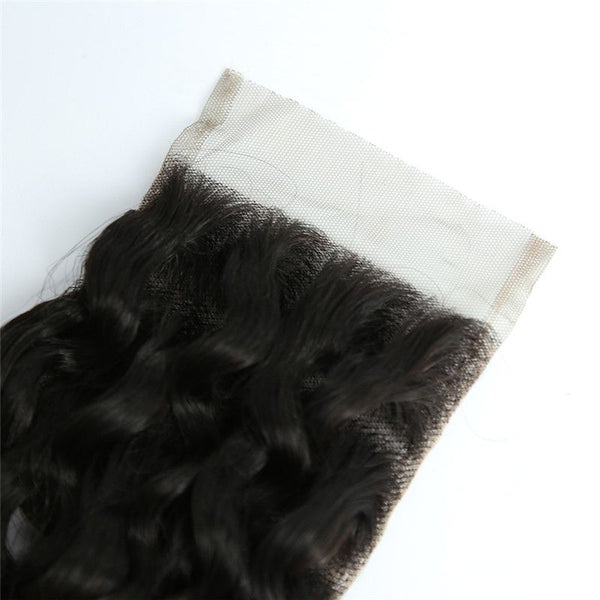 4x4 Lace Closure Loose Curly Human Hair
