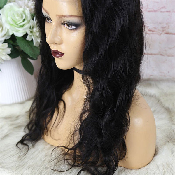 Body Wave 4x4 Lace Closure Wig Human Hair2