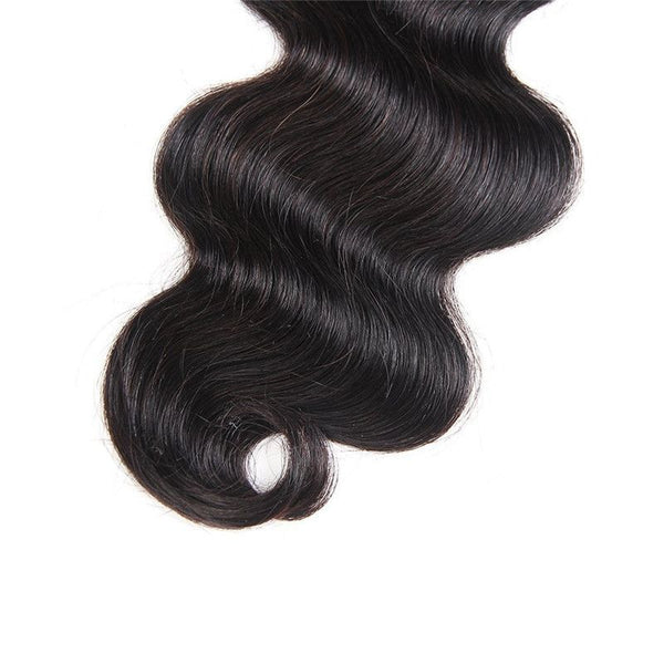 Bundles With 4x4 Lace Closure Body Wave Human Hair