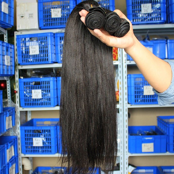 Bundles Yaky Straight Human Hair2