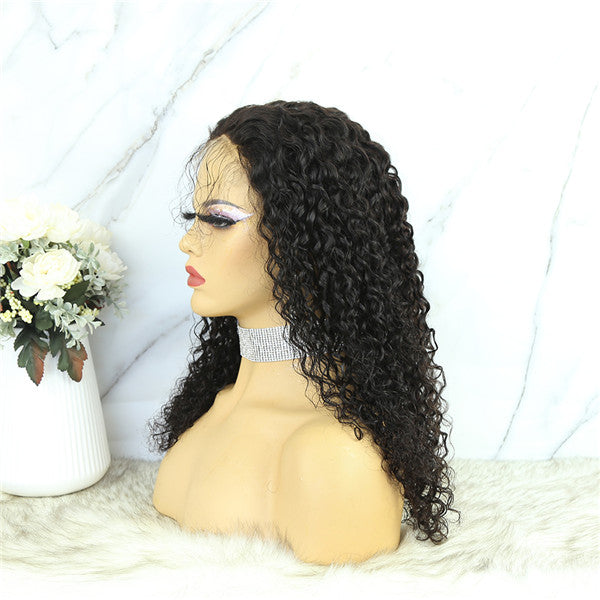 5x5 Lace Closure Wig Deep Curly Human Hair BBDC55