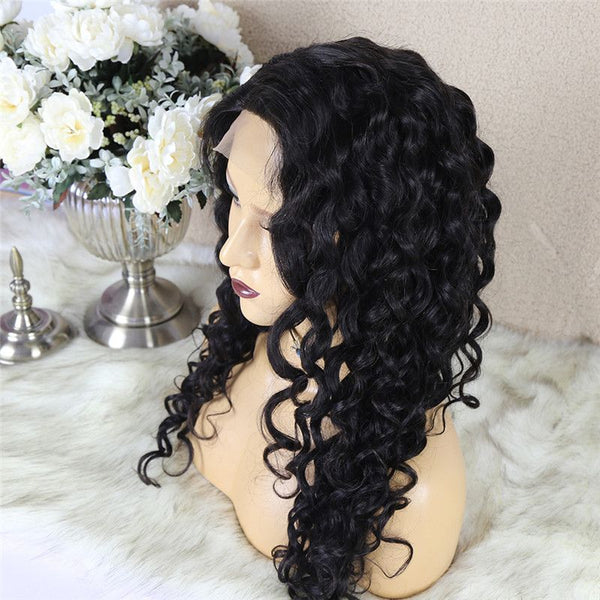 Natural Wave 4x4 Lace Closure Wig Human Hair 2