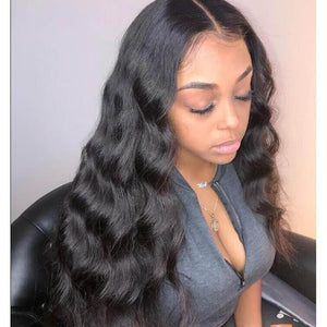 Pre Plucked Body Wave Full Lace Wig Human Hair 1