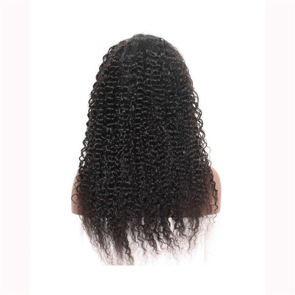 Pre Plucked Jerry Curly 360 Lace Frontal Wig6