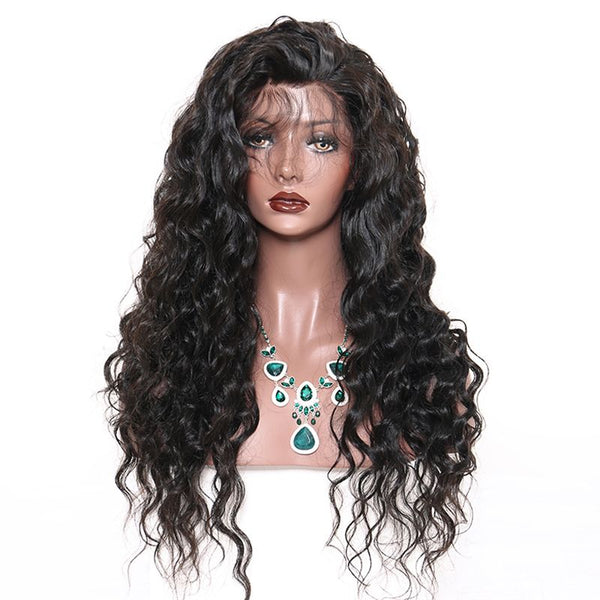 Pre Plucked Loose Wave 360 Lace Frontal Wig2