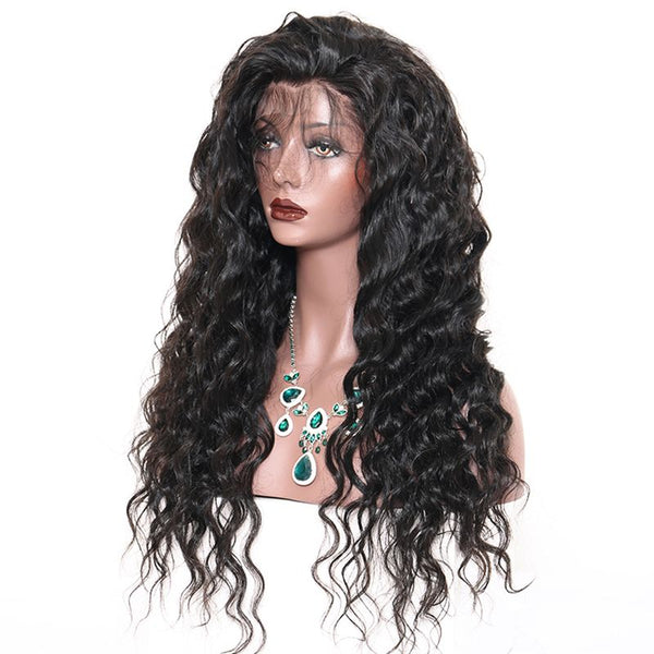 Pre Plucked Loose Wave 360 Lace Frontal Wig3