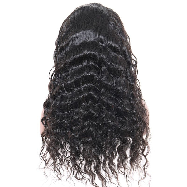 Pre Plucked Loose Wave 360 Lace Frontal Wig6