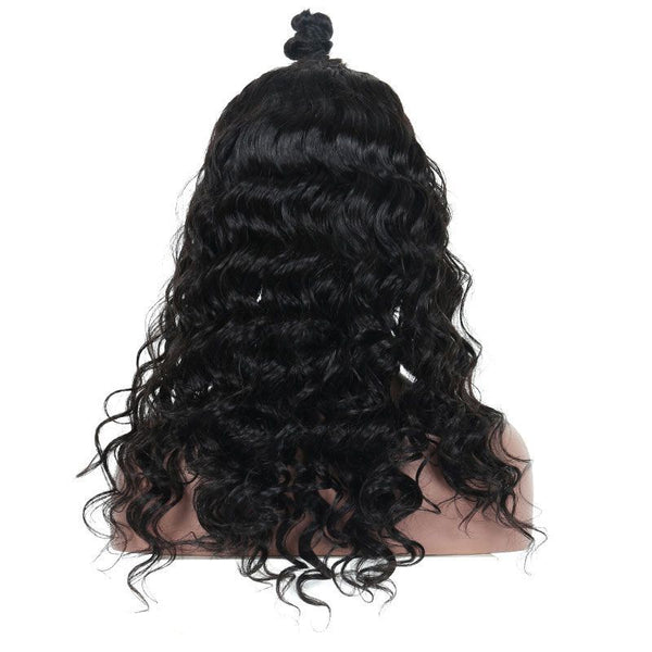 Pre Plucked Loose Wave Full Lace Wig Human Hair3