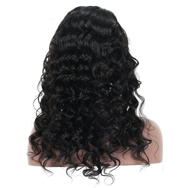 Pre Plucked Loose Wave Full Lace Wig Human Hair4
