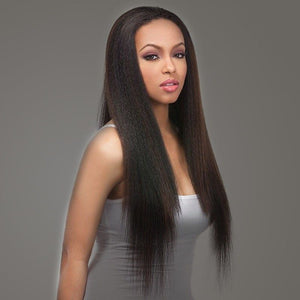 Pre Plucked Yaky Straight Full Lace Wig Human Hair 1