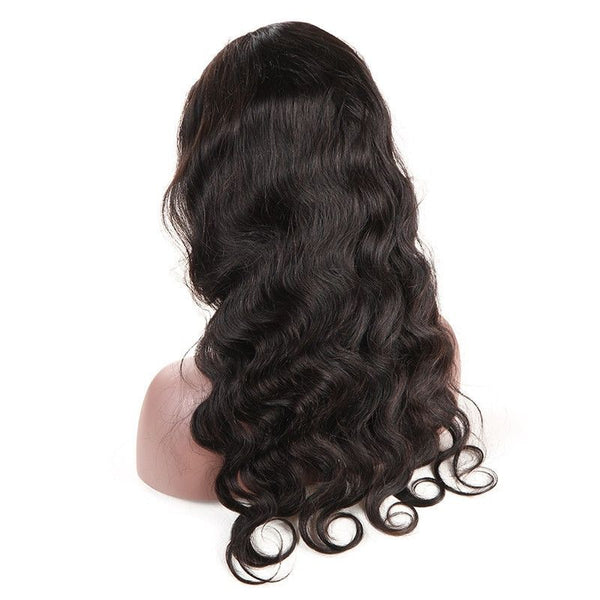 Transparent Lace Deep Body Wave 13x4 Lace Front Wig3