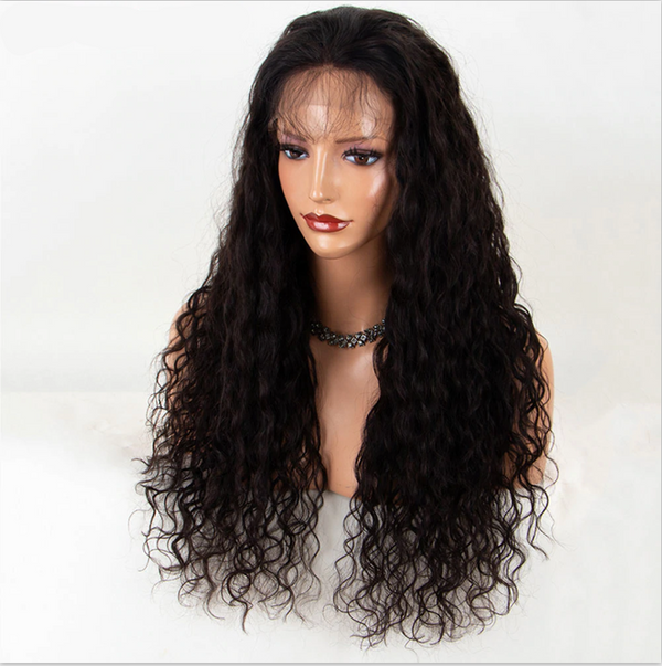Transparent Lace Loose Curly 13x4 Lace Front Wig3