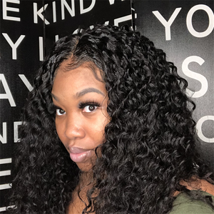 Transparent Lace Loose Curly 13x4 Lace Front Wig BBL-31