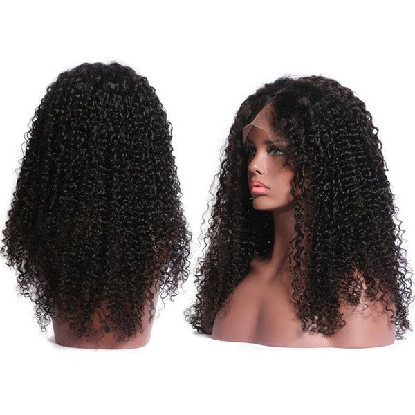 Transparent Lace Kinky Curly 13x6 Lace Front Wig BCK-1
