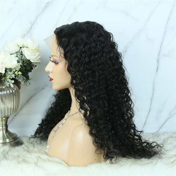 Deep Curly 13x6 T Part Lace Front Wig TBCD-1