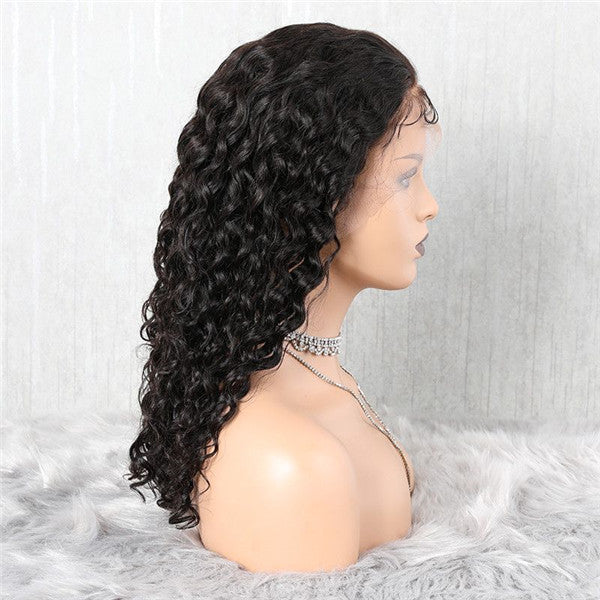 Transparent Lace Natural Wave 13x6 Lace Front Wig BCNB-1