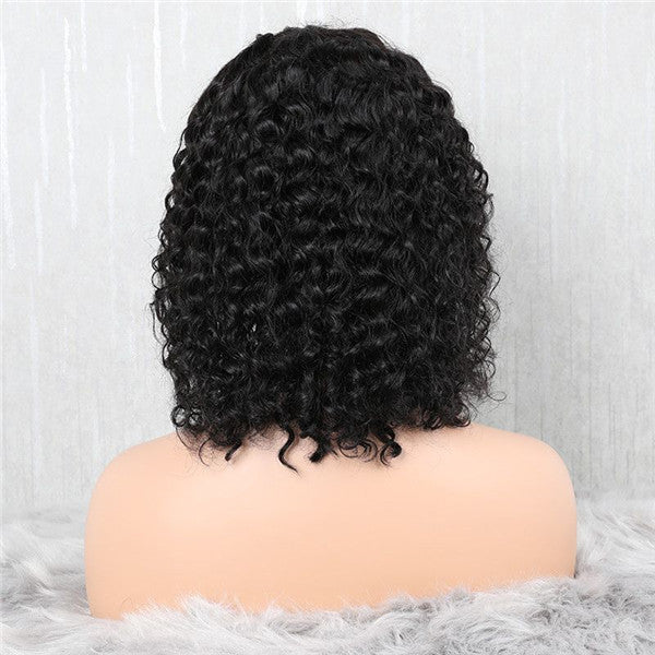 Pre Plucked Deep Curly Lace Front BOB Wig OBCL-1