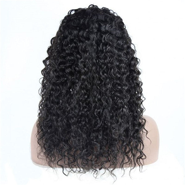 Transparent Lace Natural Wavy 13x6 Lace Front Wig BCN-1