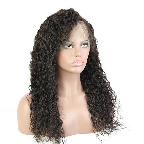 Pre Plucked Water Wave 360 Lace Frontal Wig BWF-4