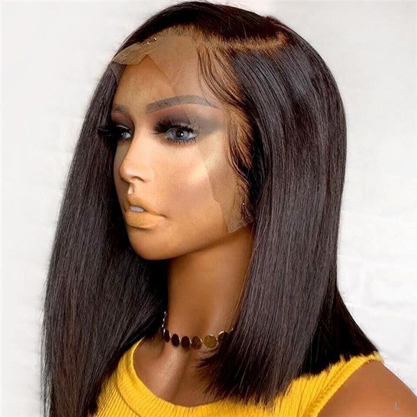 Pre Plucked Silky Straight Lace Front BOB Wig OBCTB09