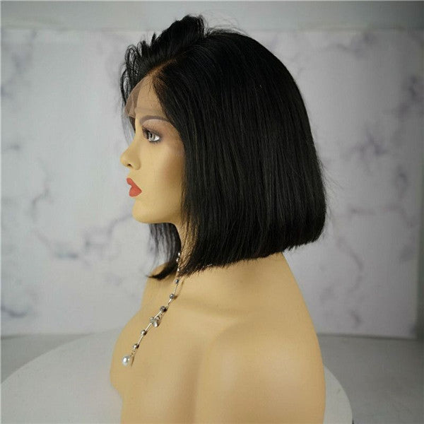 Pre Plucked Special Straight BOB Style Lace Front Wig  OBCTL02