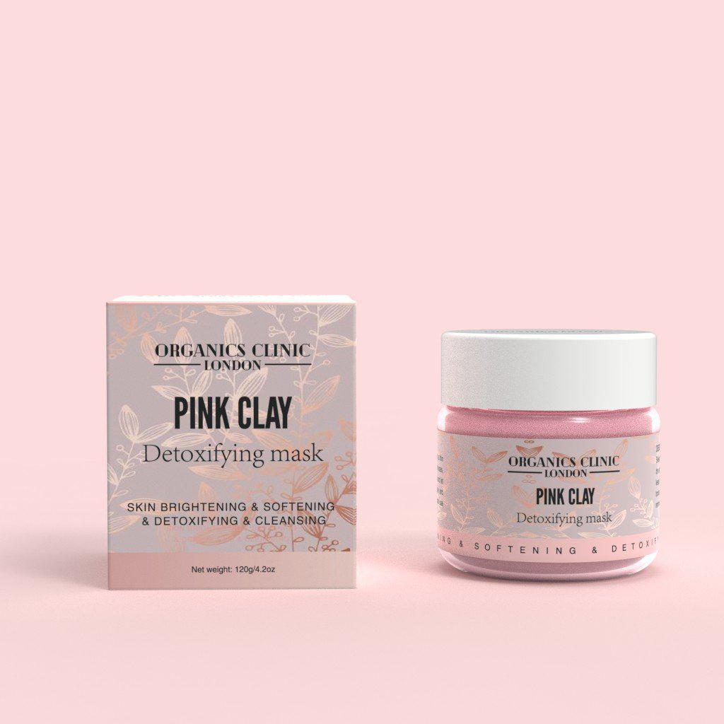 Pink Clay Mask Organic Clinics