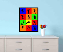 "Load image into Gallery viewer, Gaming Dances Wall Art Print. Name That Dance with This Video Game Poster Boneless, Hype, Make It Rain, Take The L and More (8"" x 10"")"
