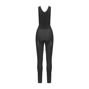 Women's Adventure Thermal Bib Tight - Black - questsport.shop