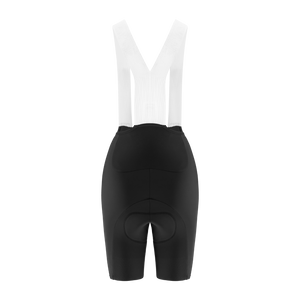 Women's Endurance Racing Bib Shorts - Black - questsport.shop
