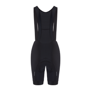 Women's Racing Aero Bib Shorts - Black - questsport.shop