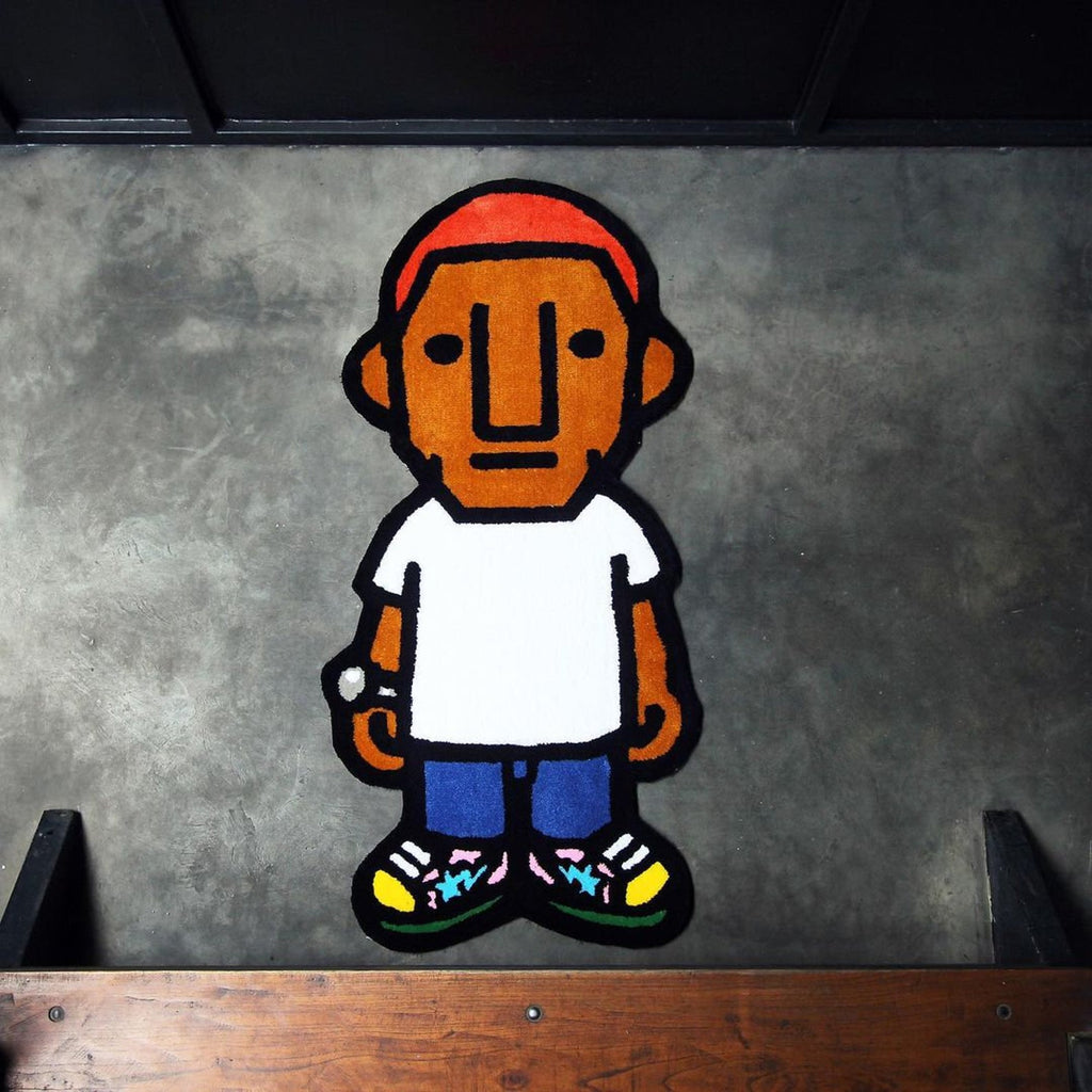 Pharrell Williams Album Cover Rug