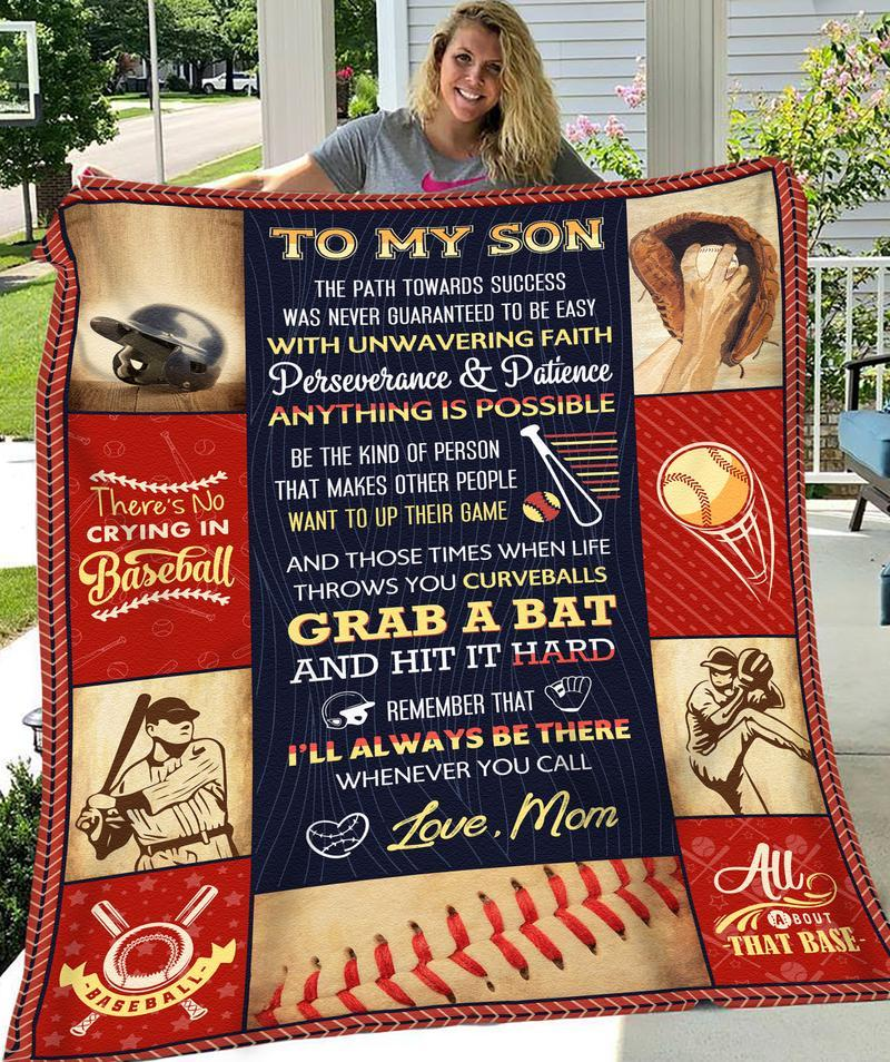 TO MY SON - THE PATH TOWARDS SUCCESS BLANKET