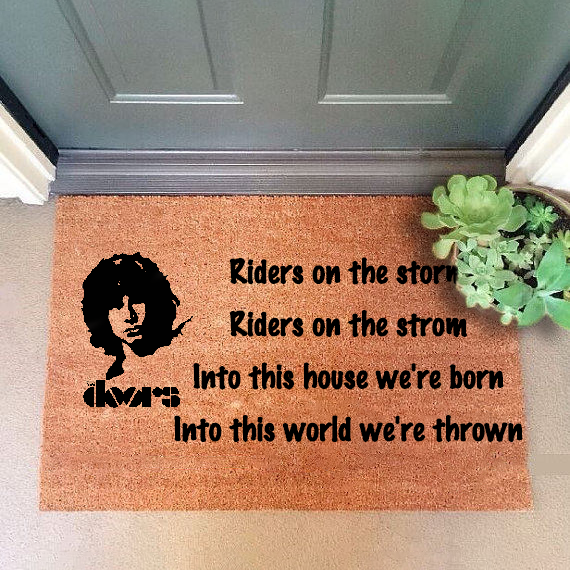 Riders on the storm Doormat