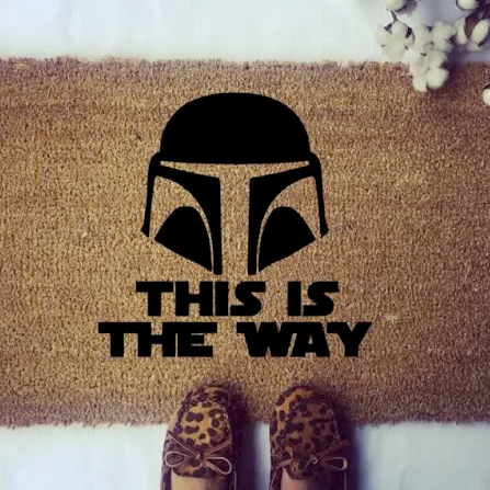 This Is The Way Doormat