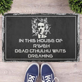 HP Lovecraft Cthulhu Doormat