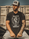 LIONS NOT SHEEP RIFLE TEE