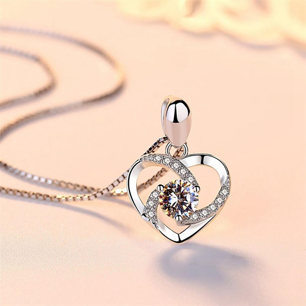 Mother & Daughter Heart Necklace