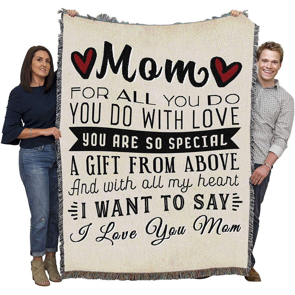 Mom for All You Do Blanket