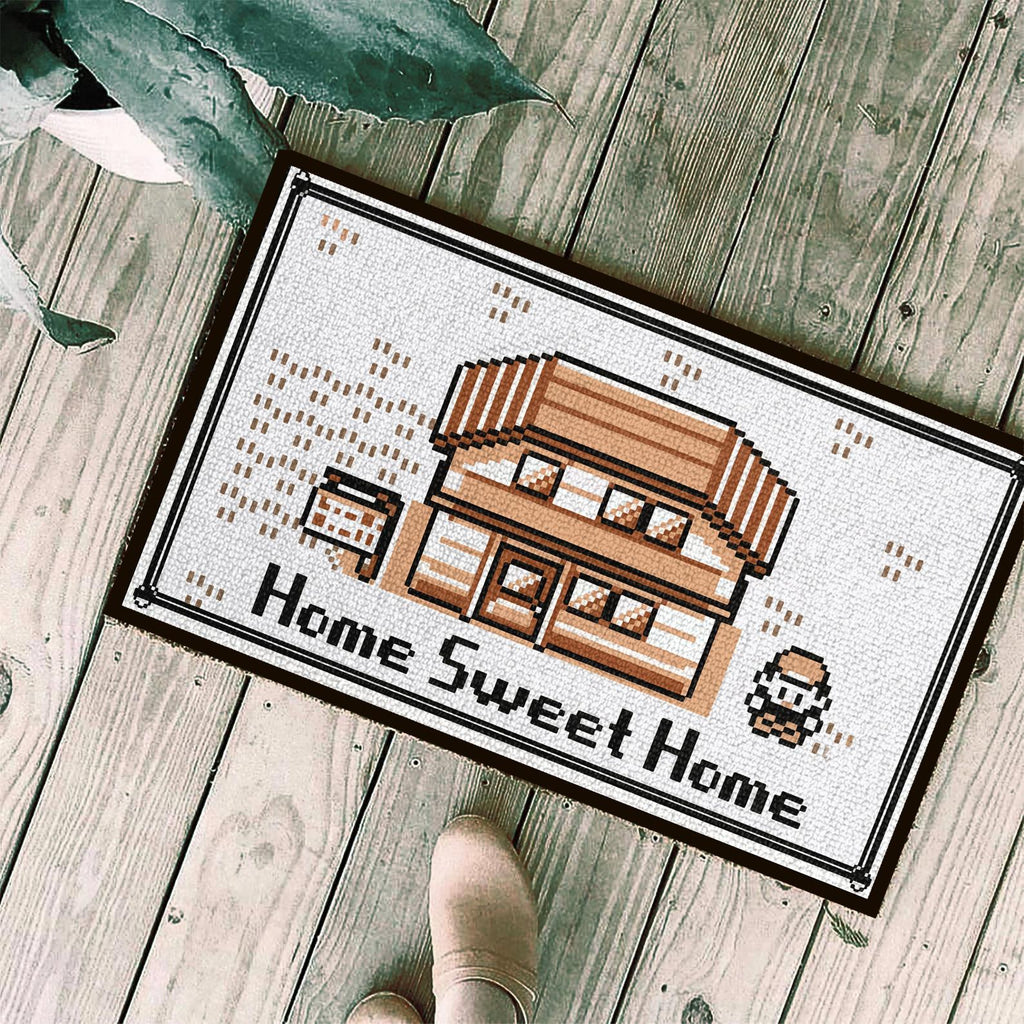 "Pokemon ""Home Sweet Home"" Rug"