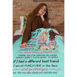 TO MY BESTIE- FLEECE BLANKET
